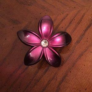 Accessories - Purple orchid hair clip